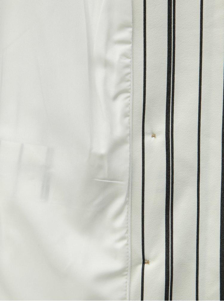 Bílé pruhované sako VILA Noama
