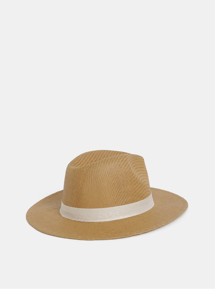 Béžový klobouk Roxy Here