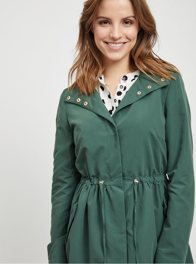Jacheta verde lejera VILA Freesia