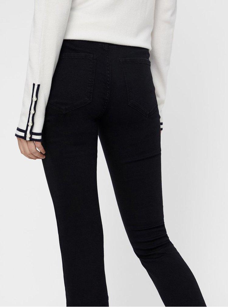 Černé slim džíny VERO MODA Julia