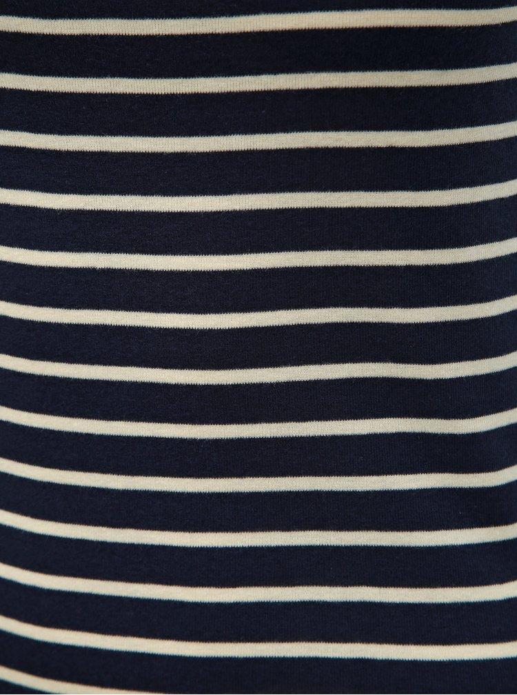 Tmavě modré pruhované basic tílko Dorothy Perkins