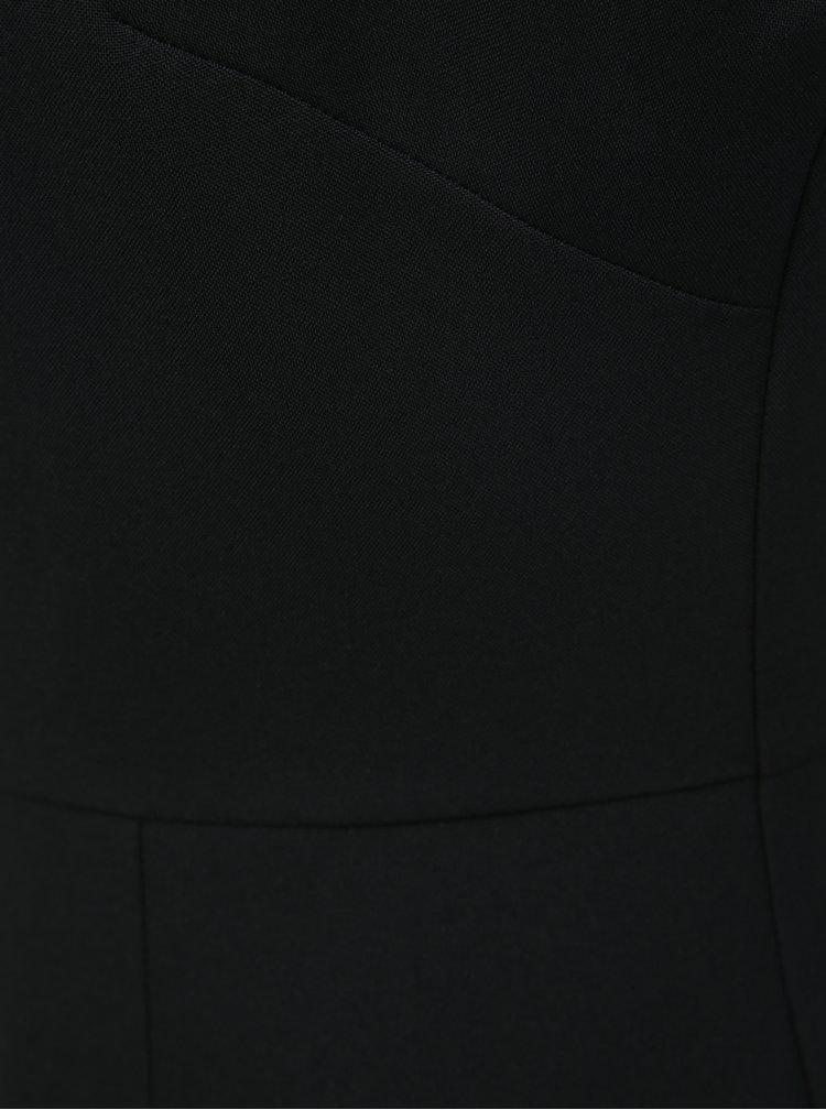Černé pouzdrové šaty na ramínka Dorothy Perkins Petite