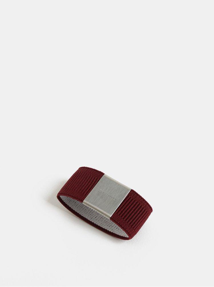 Vínová gumička na hliníkové pouzdro Secrid