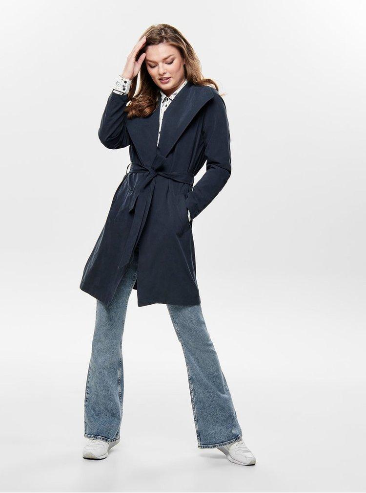Tmavě modrý kabát Jacqueline de Yong Ida