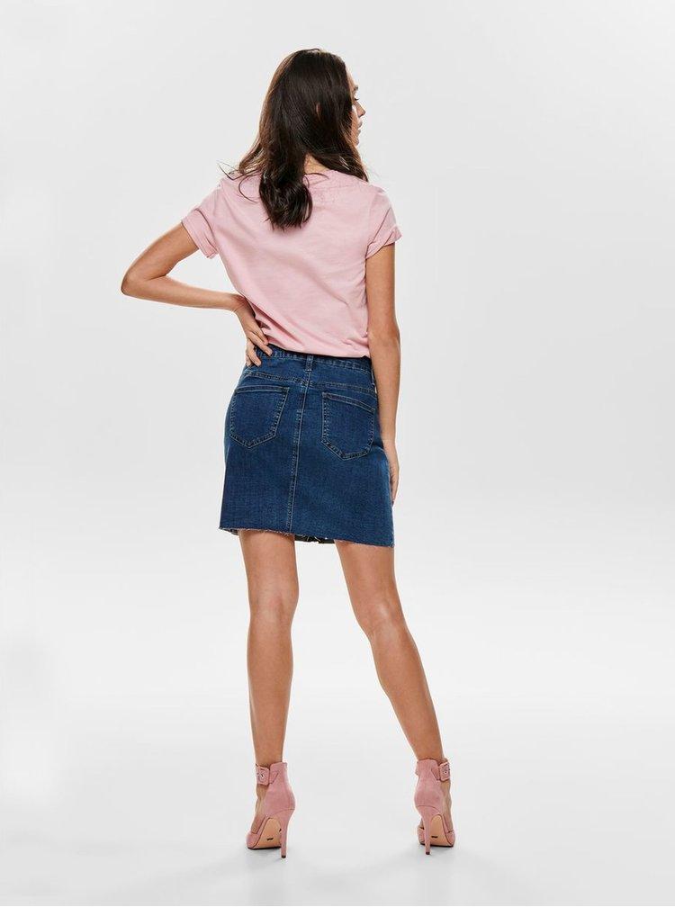 Modrá džínová minisukně ONLY Pearl