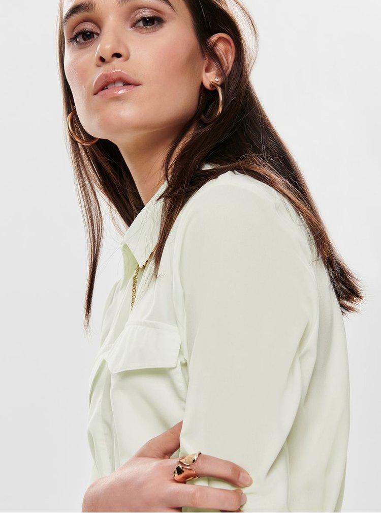 Krémové košilové šaty Jacqueline de Yong Iben