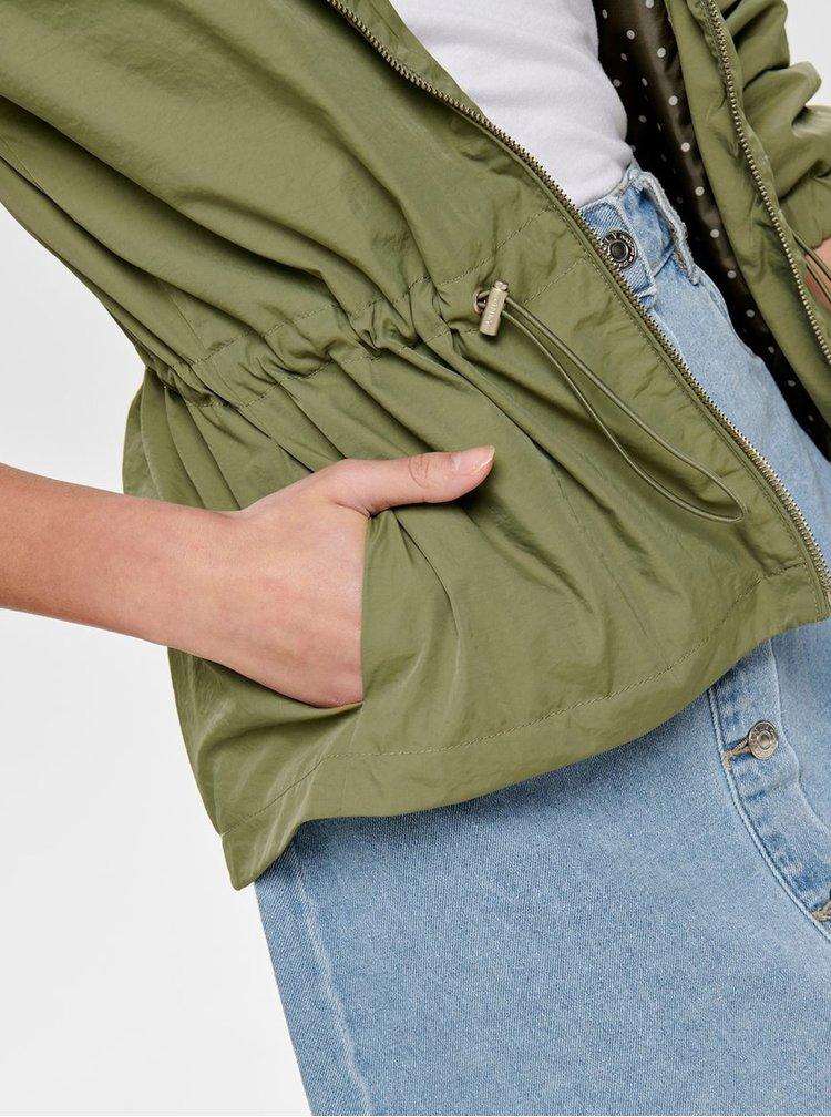 Khaki lehká bunda ONLY Cornelia