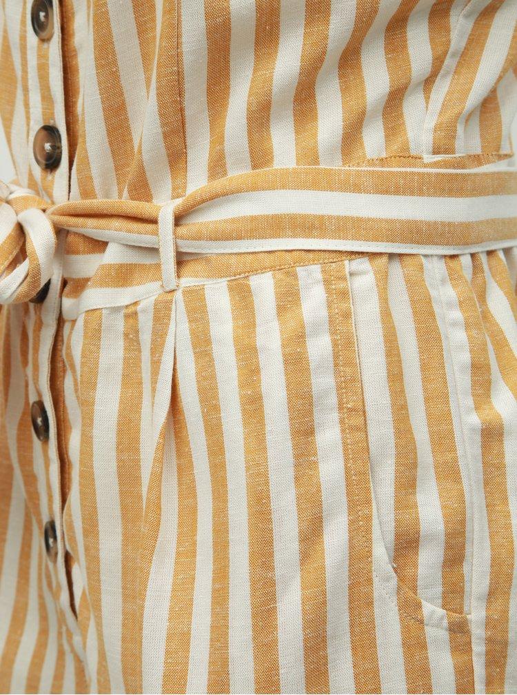 Salopeta maro-alb in dungi cu amestec de in Dorothy Perkins