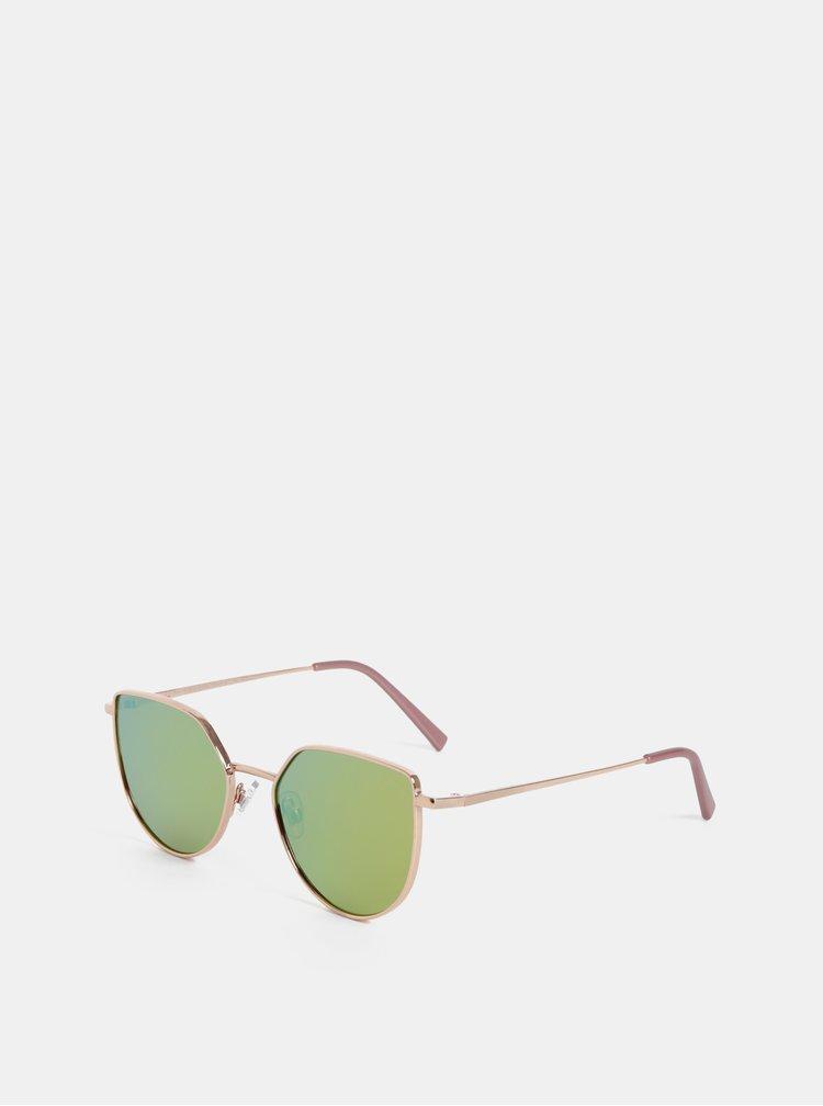 Sluneční brýle v růžovozlaté barvě Dorothy Perkins