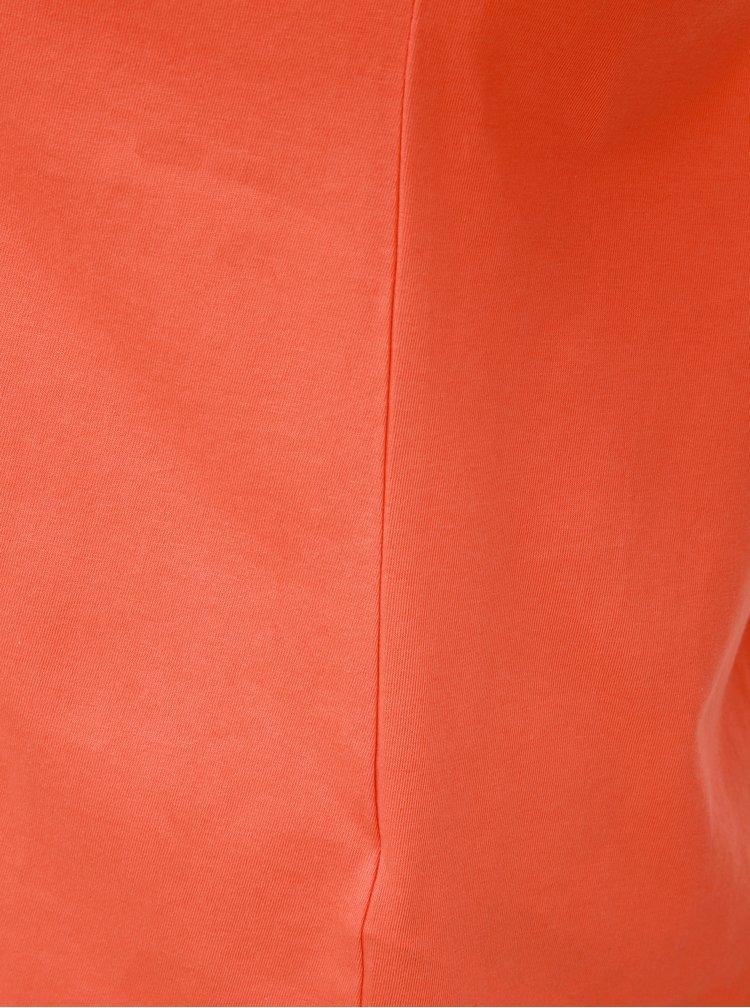 Tricou basic oranj Dorothy Perkins Curve