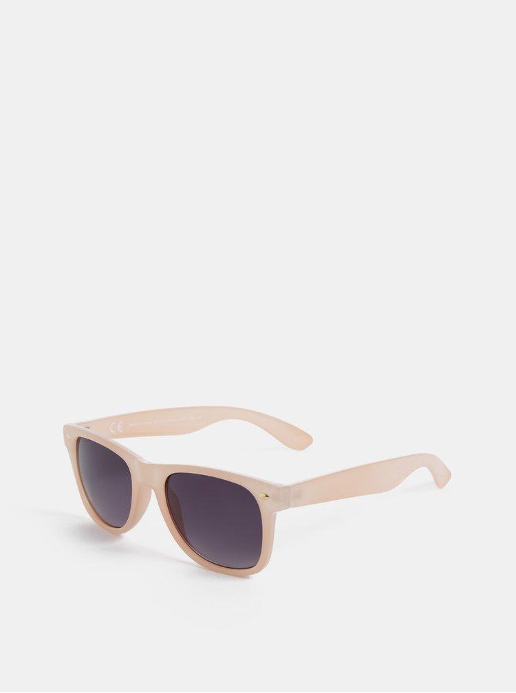 Světle růžové sluneční brýle Dorothy Perkins