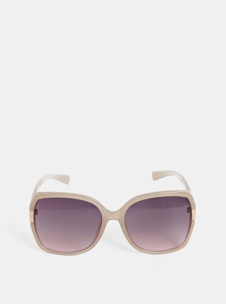 Béžové sluneční brýle Dorothy Perkins