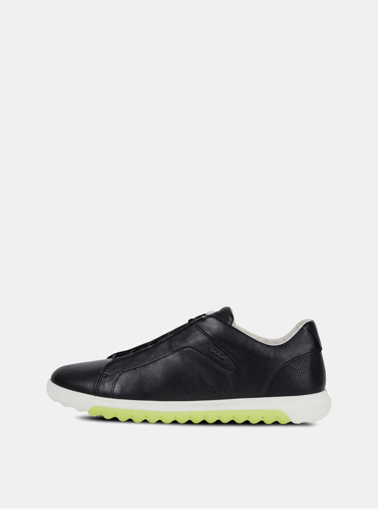 Pantofi sport barbatesti negri din piele Geox Nexside