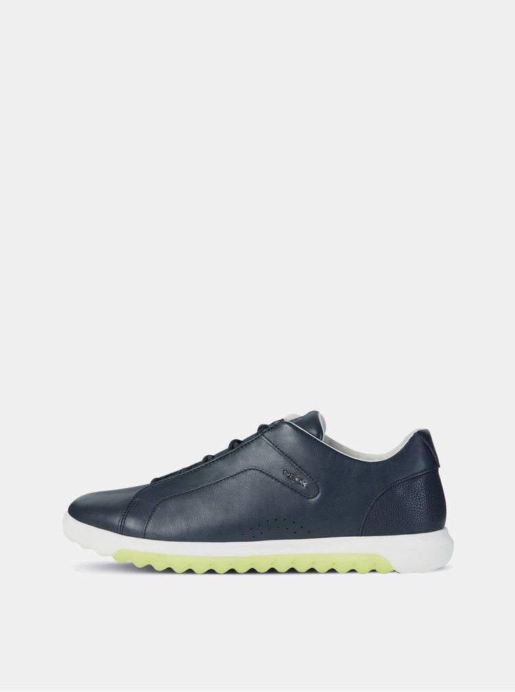 Pantofi sport barbatesti albastru inchis din piele Geox Nexside