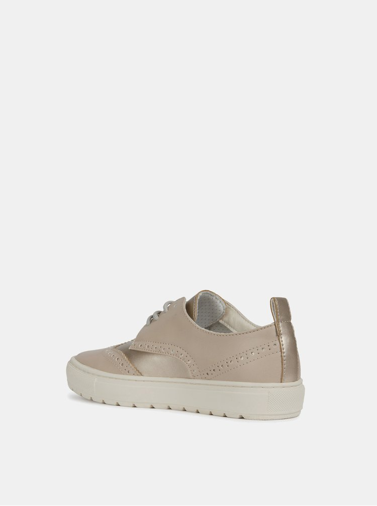 Pantofi bej de dama Geox Breeda