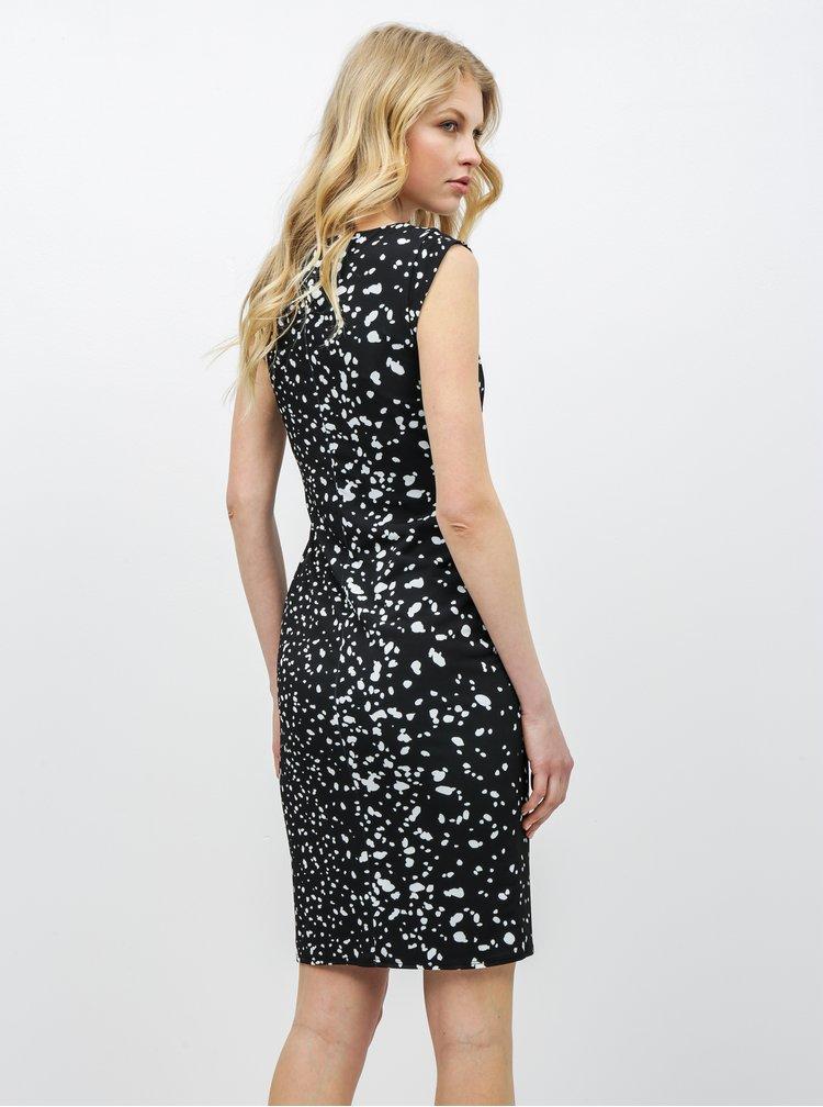 Čierne vzorované šaty Lilly & Franc by Dorothy Perkins