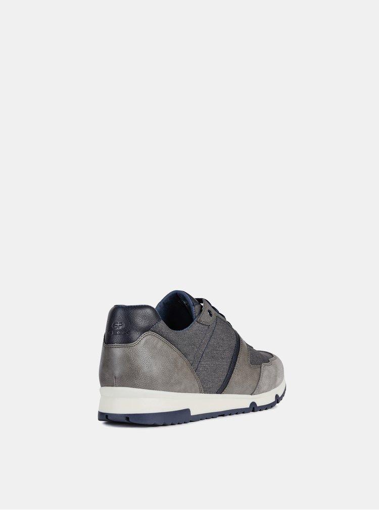 Pantofi sport barbatesti gri Geox Wilmer