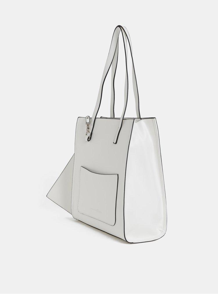 Bílá kabelka s pouzdrem 2v1 Tom Tailor Denim Jen