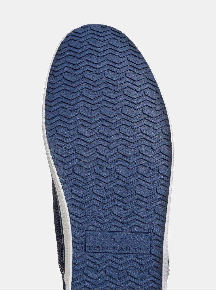 Tmavě modré pánské tenisky Tom Tailor