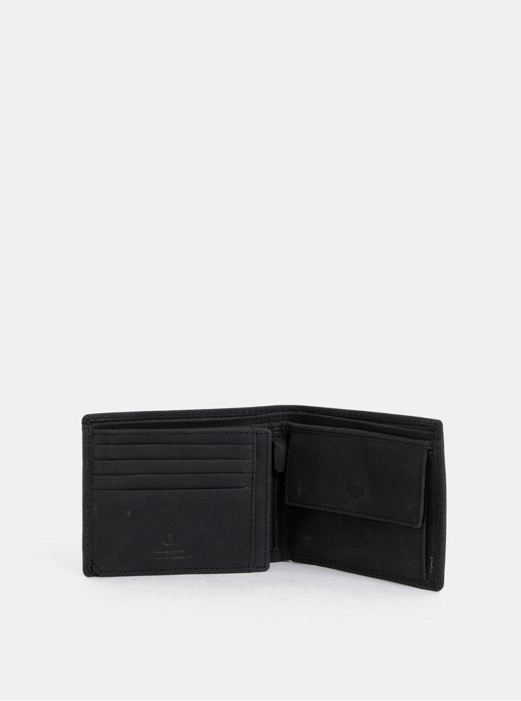 Černá pánská kožená peněženka Tom Tailor Ron