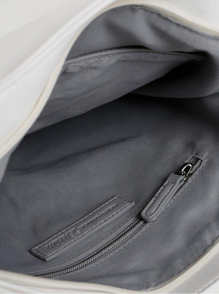 Šedo-bílá kabelka Tom Tailor Denim Judith