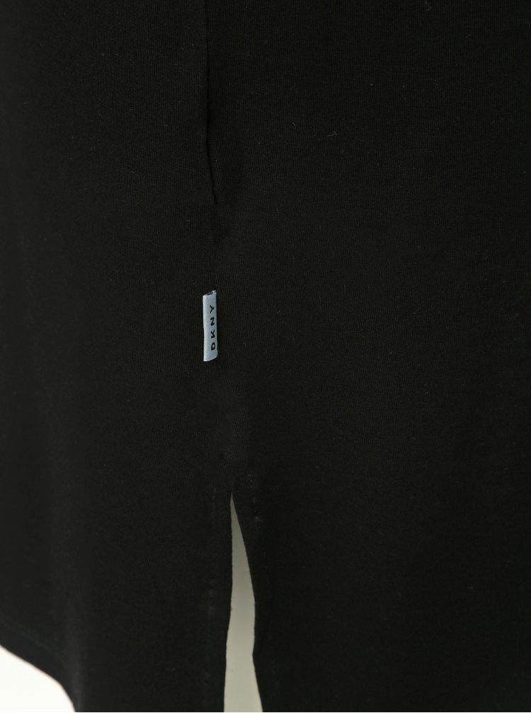 Čierna nočná košieľka DKNY