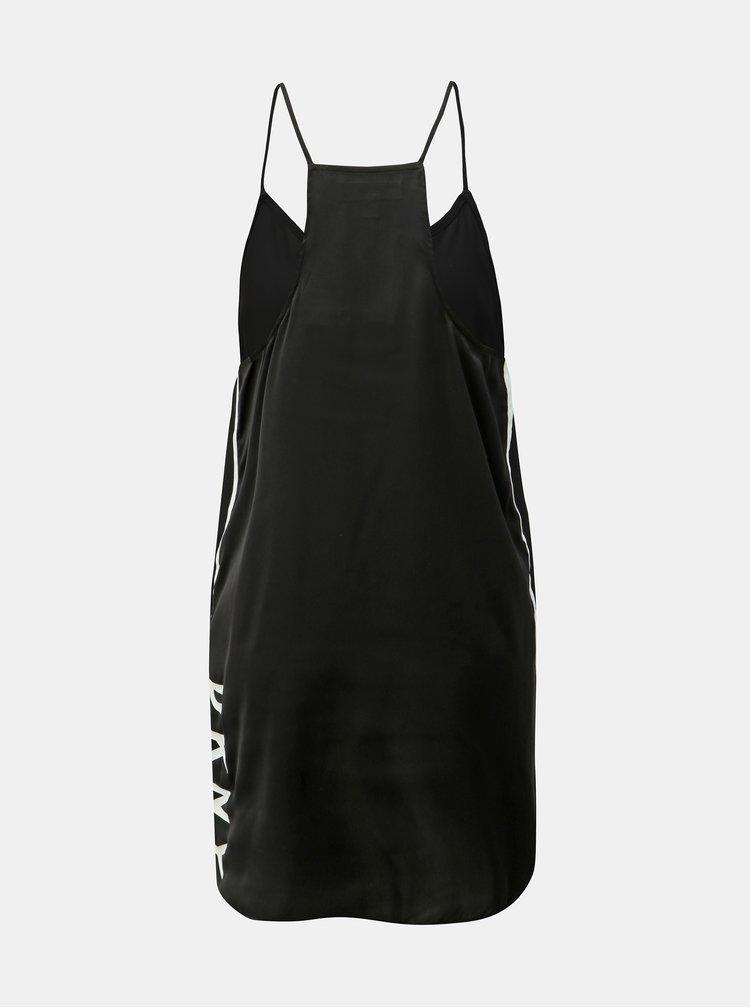 Černá noční košile DKNY