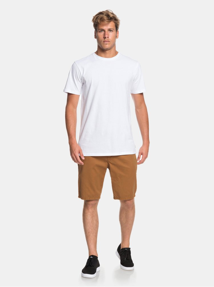 Hnedé chino kraťasy Quiksilver Every Day Chilight