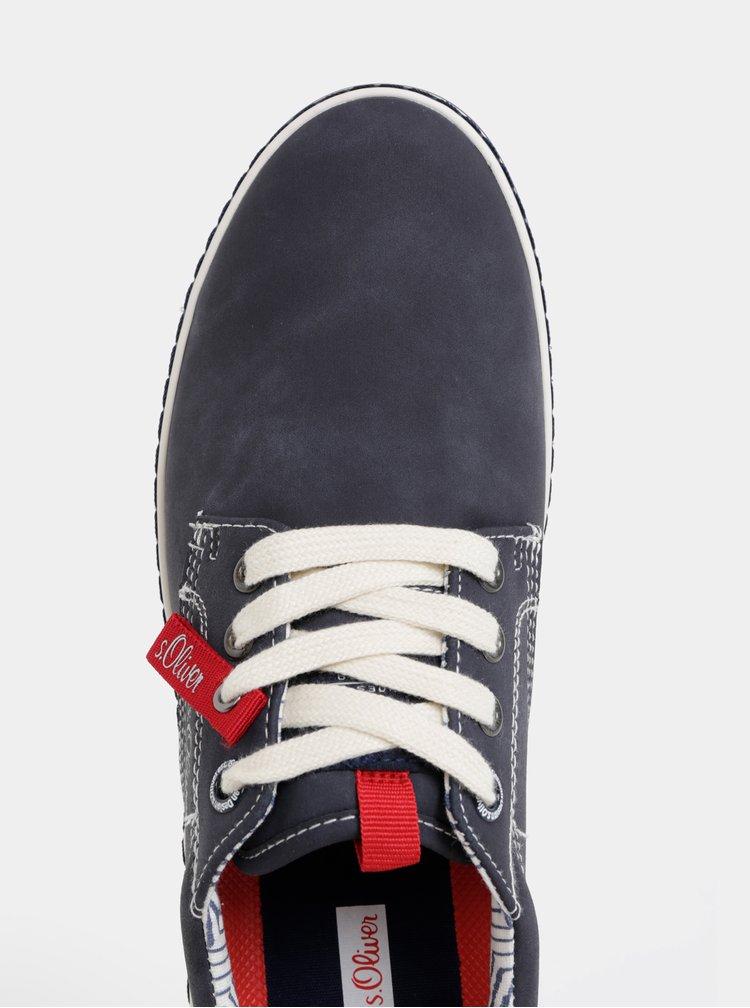 Pantofi sport barbatesti albastru inchis s.Oliver