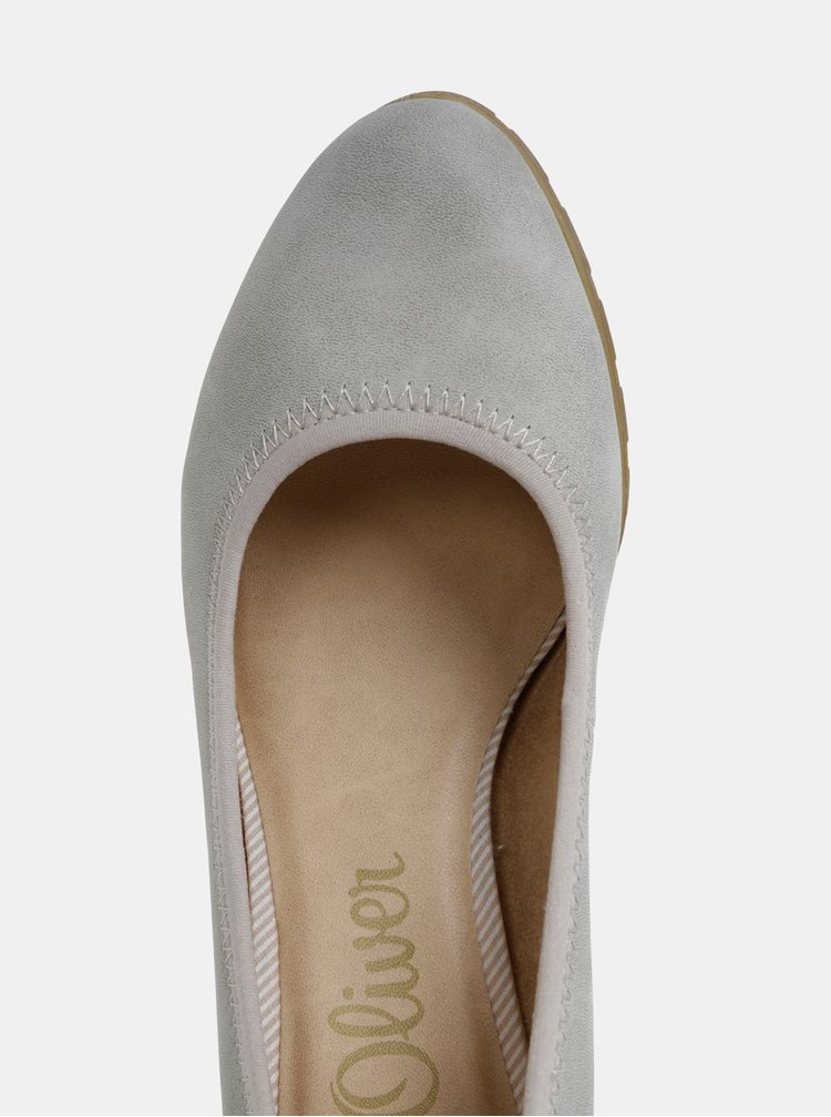 Pantofi gri s.Oliver