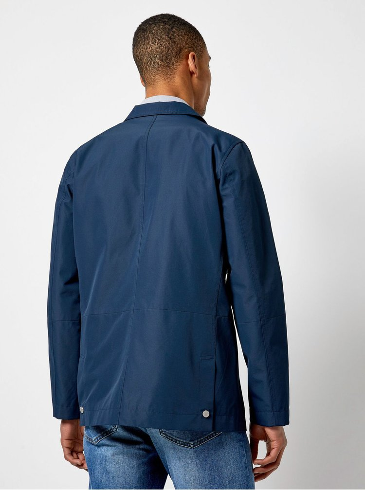 Tmavě modrá lehká bunda Burton Menswear London Hybrid