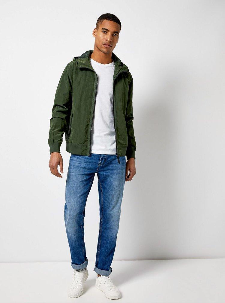 Tmavě zelená lehká bunda Burton Menswear London Globe
