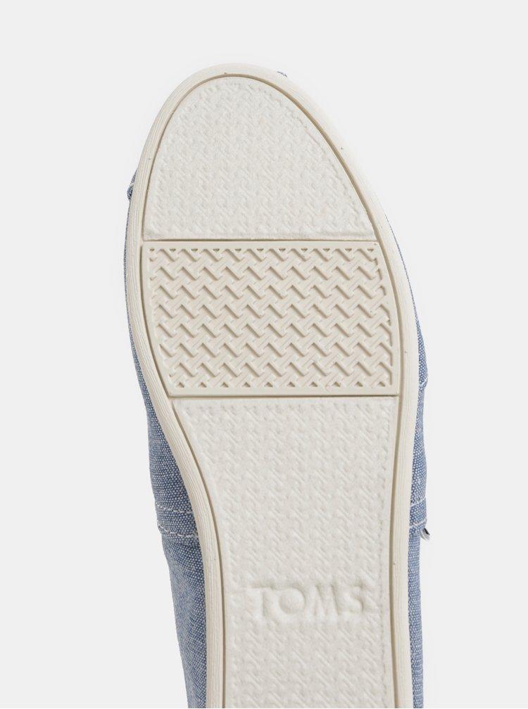 Světle modré dámské espadrilky TOMS