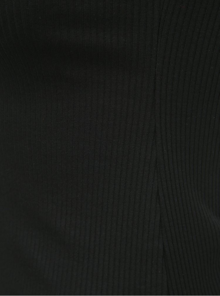 Top negru cu striatii fara bretele Dorothy Perkins