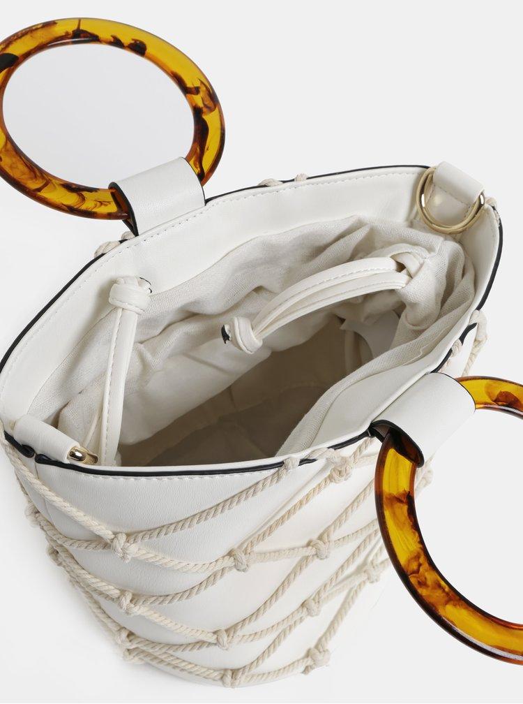 Krémová kabelka Dorothy Perkins