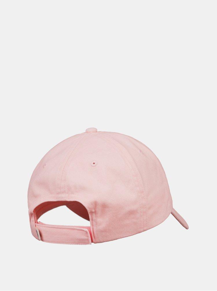 Světle růžová kšiltovka Roxy Extra Innings