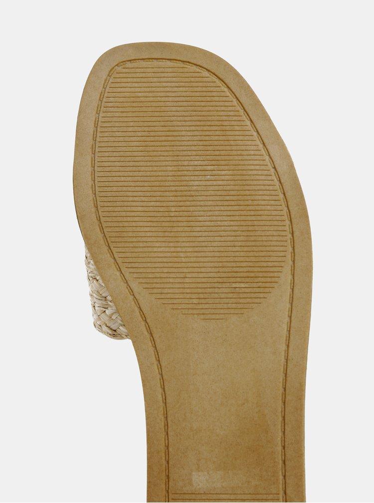 Papuci maro deschis Dorothy Perkins