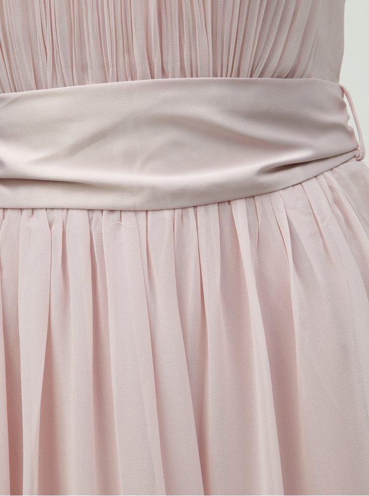 Rochie midi roz deschis Dorothy Perkins