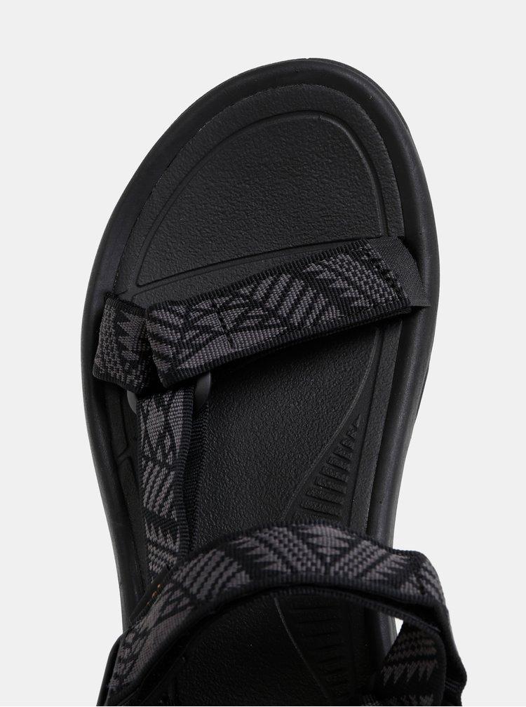 Sandale barbatesti negre cu model Teva