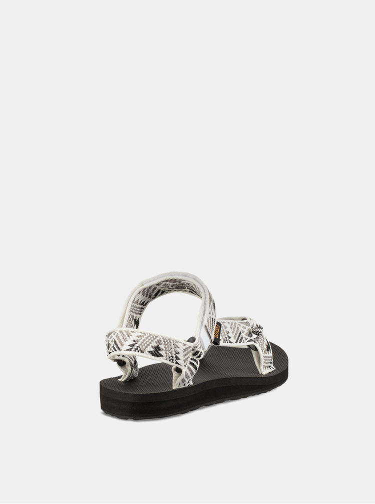 Šedo-bílé dámské vzorované sandály Teva