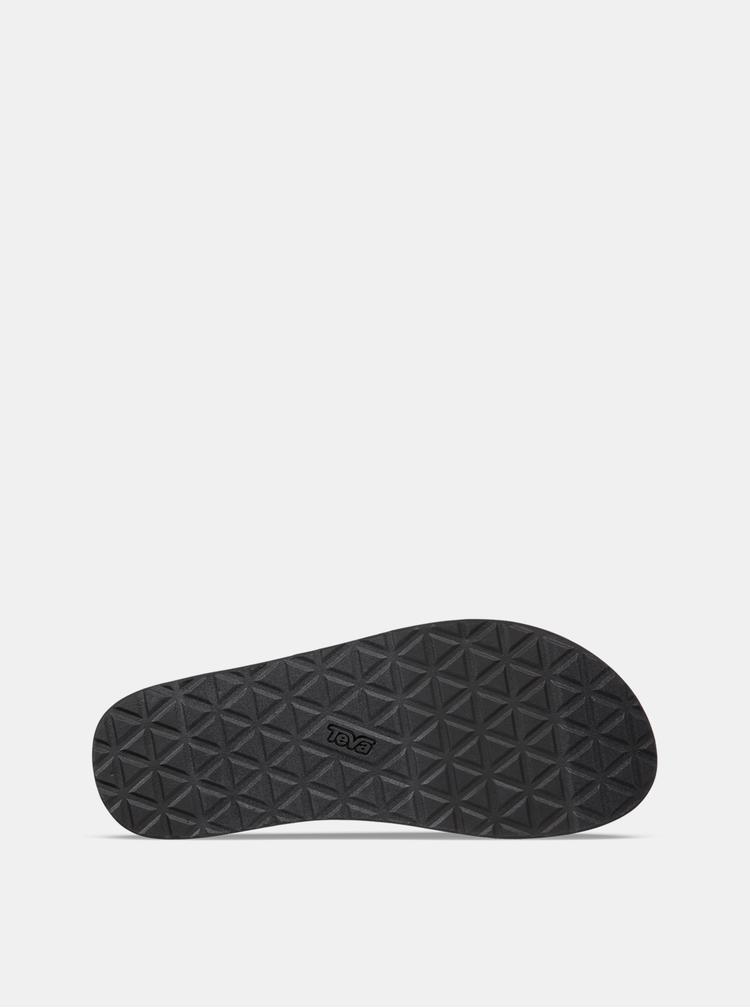 Šedo-černé pánské vzorované sandály Teva
