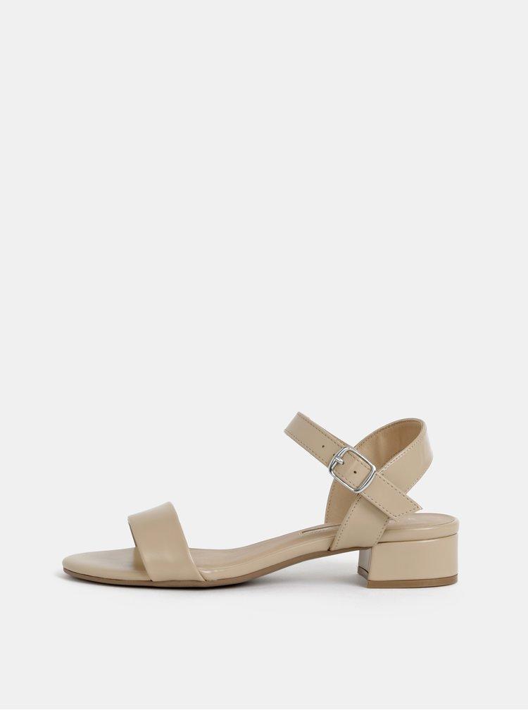 Béžové sandále Dorothy Perkins