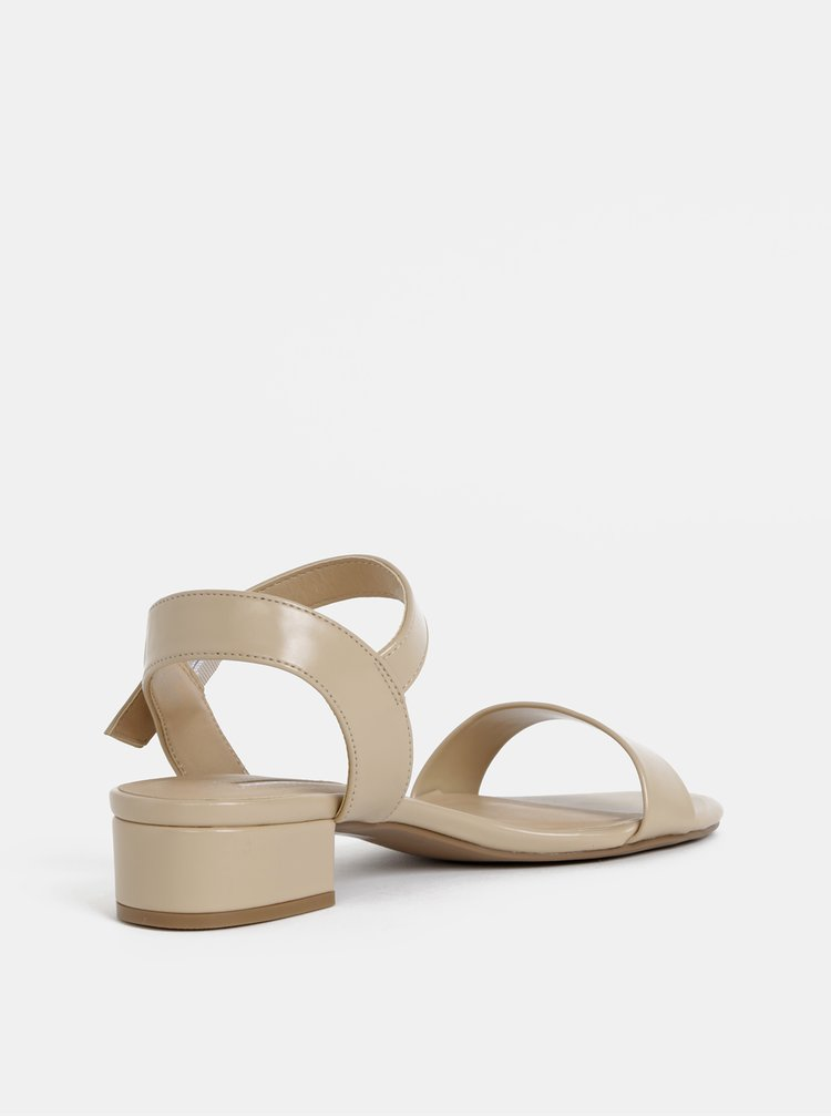 Béžové sandály Dorothy Perkins