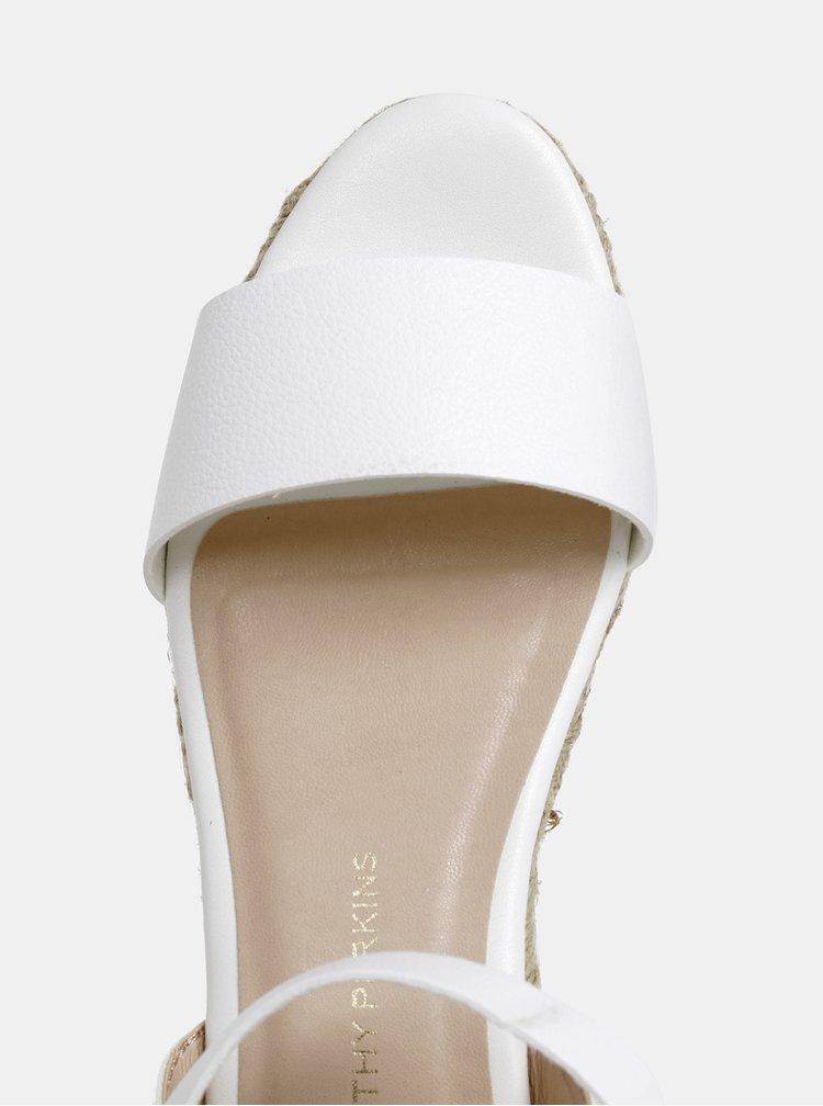 Biele sandále Dorothy Perkins
