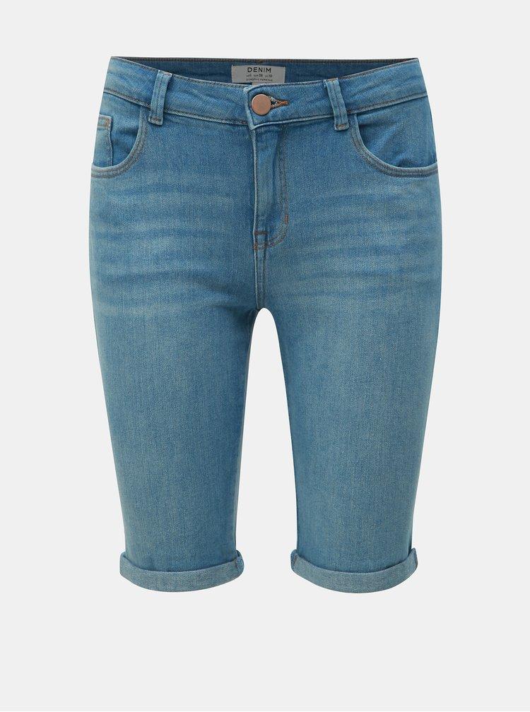 Světle modré džínové regular fit kraťasy Dorothy Perkins