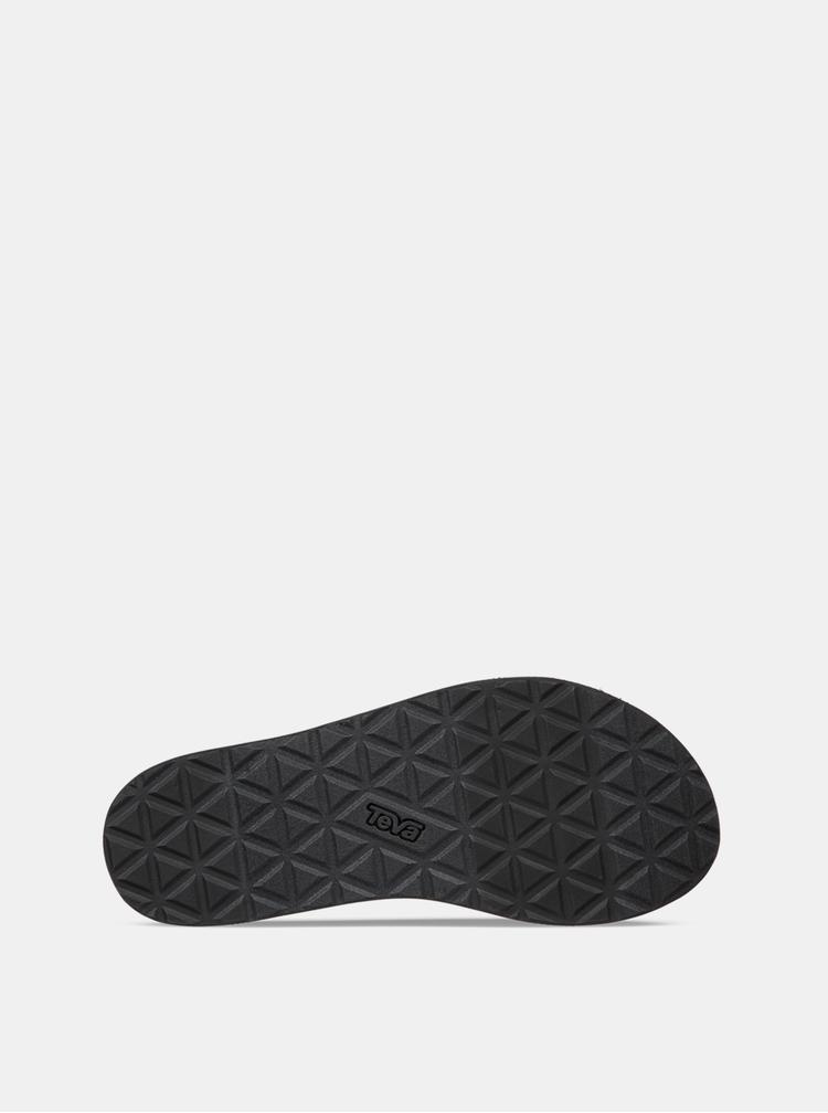 Tmavomodré dámske vzorované sandále Teva