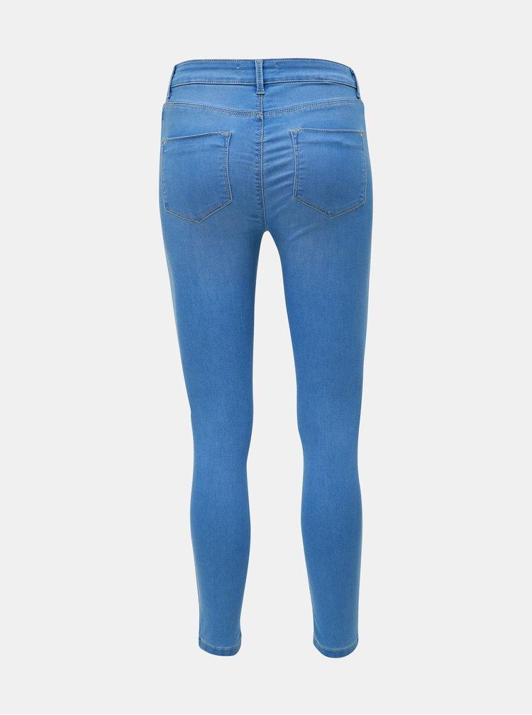 Modré super skinny fit džíny Dorothy Perkins Petite Frankie
