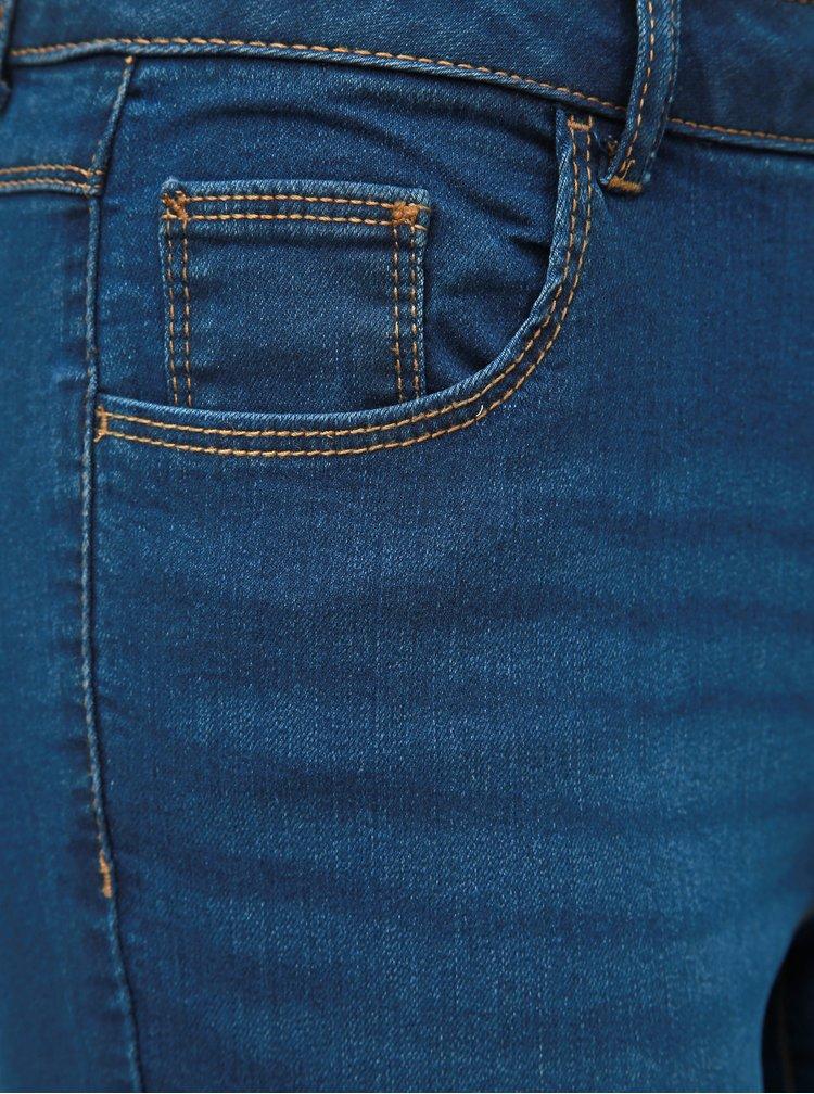 Blugi albastru inchis skinny fit Dorothy Perkins Petite Ashley