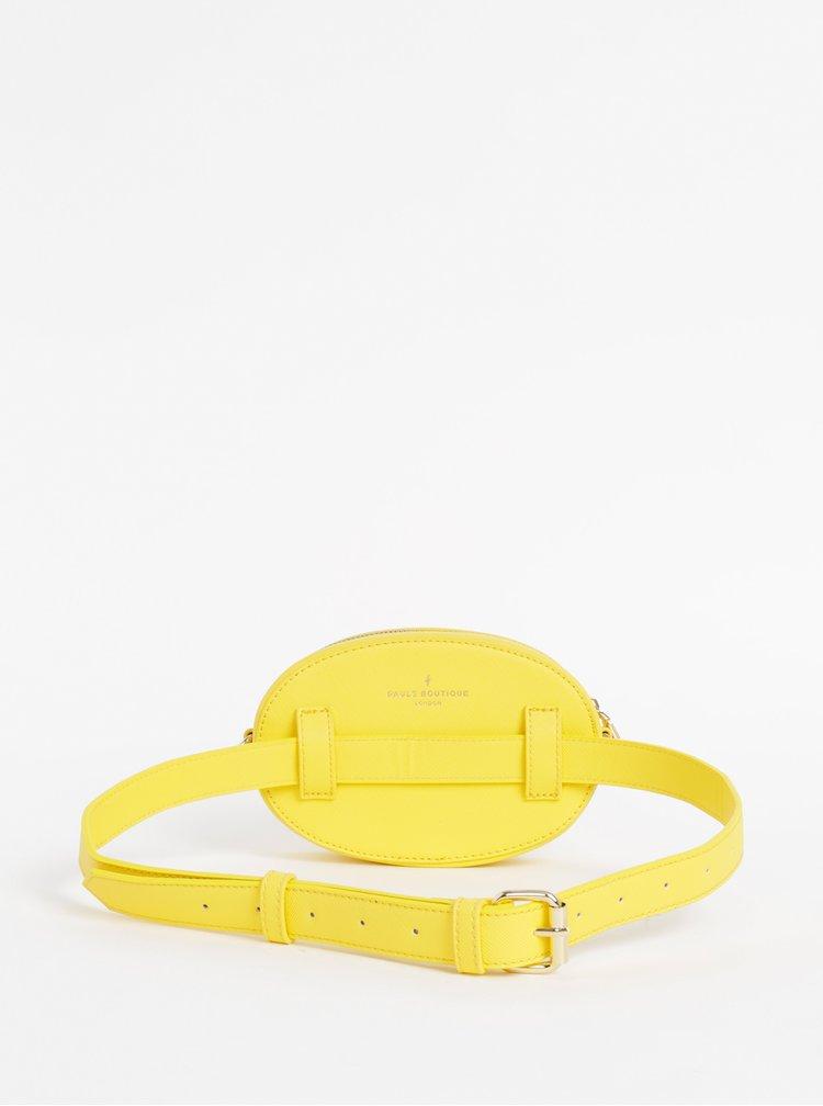 Žlutá ledvinka/kabelka Paul's Boutique Simi