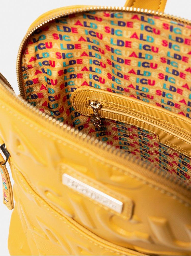 Hořčicový batoh Desigual Colorama